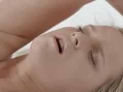 blond angel enjoying self orgasm