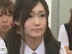 Subtitled CFNM nudist Japanese transfer student school