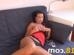 hole fully opened for you of czech girl