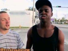 Hungry public amateur loves interracial