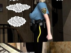 3D Comic: Raymond. Behind The Green Door. Episodes 3-4