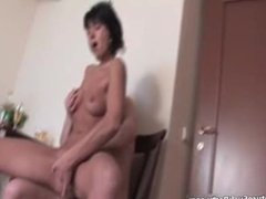 Horny mature groupsex video part3