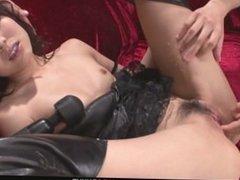 Horny Megumi Shino´s Teen Holes Fucked With Sex Toys