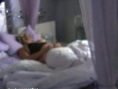Caught my fingering blonde mum on hidden camera