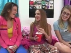 Young student penetrating schoolgirls