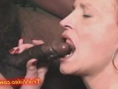 CUM sucking SLUTTY GRANNY