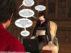 3D Comic: Vox Populi. Episode 3