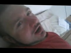 Canadian Dude Strokes His Cock and Cums