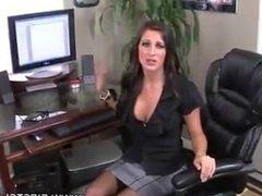 Brunette Give Amazing Blowjob POV