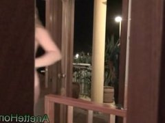 naked pizza delivery with 3 naked girls voyeur video