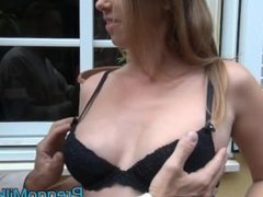 pregnant 9 months blowjob outdoor with amateur milf