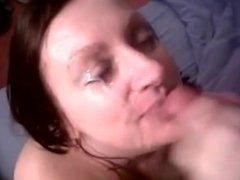 A Hot Sassy Milf Gives BJ - 003