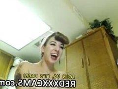 Cute teen in webcam - Episode 287