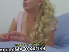 Hot teen showing off in webcam - Episode 29