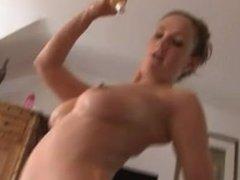 Victoria Roberts in Shower
