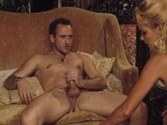 Fovea hot redhead & Lisa Crawford threesome & DP with toys