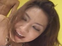 Japanese amateur gets a good hard fucking Uncensored