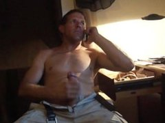 Phone Sex ..... my roommate walked in and recorded it.
