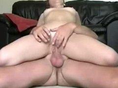 A horny wife sucks and fucks