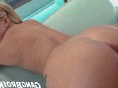 Amateur Blondie Pounded on the Butthole