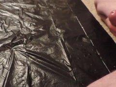 Edging Huge Cumshot Spritzing Slow Motion