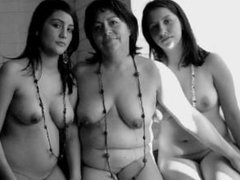 Mother And Not Their Daughter Get Nake For Photos Compilation