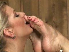 Lesbian foot passion