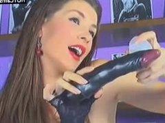 Gorgeous Brunette Hot Anal Webcam