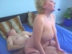 Milada blonde mature woman with big natural tits
