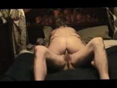 MILF gets fucked in her ass