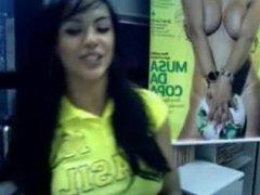 Aline Bernardes Twitcam 2 PT1