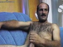 Duran (Arabic) enjoys in front of the web cam.