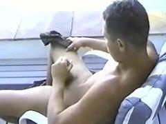 brasileño vergon se masturba 1