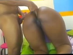 Big Ass Ebony Blowjob & Anal Sex