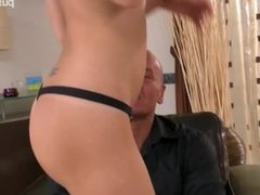 Gorgeous wife sex in public
