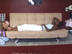foot worship wakes her up