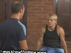 Beautiful Blond Twink Bottoms for Dominant Older Man
