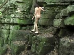 Mark Heffron - Naked Rock Climbing