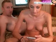 Couple having sex on webcam