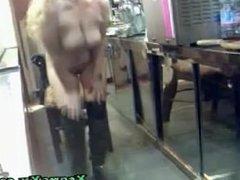 Blonde Strips On Cam on XcamsXx.com Webcam