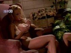 smoking blonde porn star