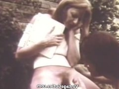 An Outdoor Blowjob with Cumshot