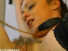 Hardcore slavesex and rough domination of blowjob milf in pain and bondage