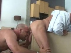 Muscular Bear Daddy Office Action