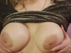 Busty milf pleases her man by rimming and blowing him
