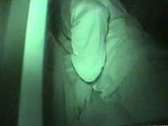Dark Night Sex Inside Of Car
