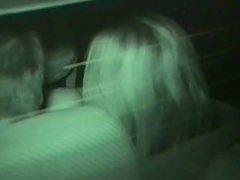 Infrared Camera Inside Of Dark Car
