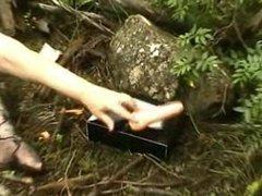 Nylon feet e o vibrador