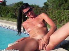 German amateur bitch gangbanged on vacation