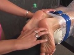 Czech Girl Tickled, Feet F/F